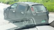 2017 Fiat Punto tail lamp spied in Brazil
