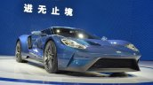 2017 Ford GT front three quarters at 2015 Shanghai Auto Show