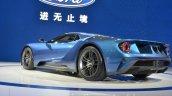 2017 Ford GT rear three quarters at 2015 Shanghai Auto Show
