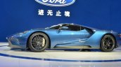 2017 Ford GT side at 2015 Shanghai Auto Show