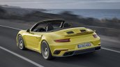 2017 Porsche 911 Turbo Convertible rear