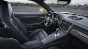2017 Porsche 911 Turbo cabin