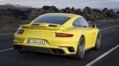 2017 Porsche 911 Turbo rear