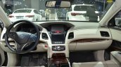 Acura RLX SH-AWD dashboard at 2015 Shanghai Auto Show