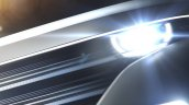 All-electric VW Bulli concept 2016 CES headlamp and grille teaser