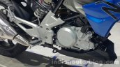 BMW G310R engine at 2015 Thailand Motor Expo