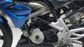 BMW G310R engine casing at 2015 Thailand Motor Expo