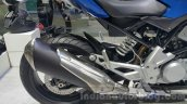 BMW G310R exhaust at 2015 Thailand Motor Expo