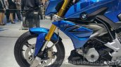 BMW G310R fuel tank extension at 2015 Thailand Motor Expo