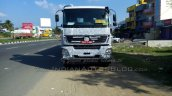 Bharat Benz 3143 based 49-tonne 4943 rigid truck front spied
