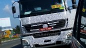 Bharat Benz 3143 based 49-tonne 4943 rigid truck windshield spied