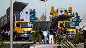 BharatBenz stall at EXCON 2015