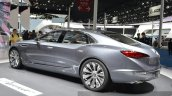 Buick Avenir concept rear three quarters at the 2015 Shanghai Auto Show