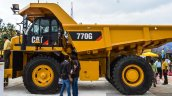 Caterpillar 770G side at EXCON 2015