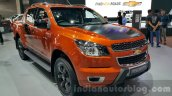 Chevrolet Colorado High Country Storm front three quarters left at 2015 Thai Motor Expo