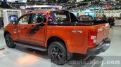 Chevrolet Colorado High Country Storm rear three quarters left at 2015 Thai Motor Expo