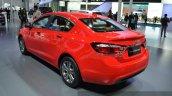 Chevrolet Cruze rear three quarters far at the 2015 Shanghai Auto Show