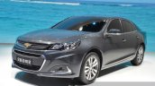 Chevrolet Malibu front three quarters at 2015 Shanghai Auto Show