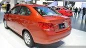 Chevrolet Sail 3 rear three quarters at 2015 Shanghai Auto Show