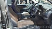 Chevrolet Trailblazer Urban package showcased front cabin at the 2015 Thailand Auto Expo