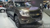 Chevrolet Trailblazer Urban package showcased front quarter at the 2015 Thailand Auto Expo