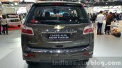 Chevrolet Trailblazer Urban package showcased rear at the 2015 Thailand Auto Expo