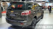 Chevrolet Trailblazer Urban package showcased rear quarter at the 2015 Thailand Auto Expo