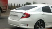 China-spec 2016 Honda Civic sedan rear end spotted