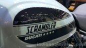 Ducati Scrambler Sixty2 fuel tank at 2015 Thailand Motor Expo