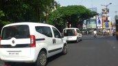 Fiat Doblo Qubo spied in Maharashtra