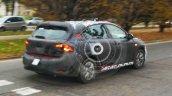 Fiat Tipo hatchback rear quarter spotted testing