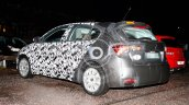 Fiat Tipo hatchback rear three quarter spotted testing