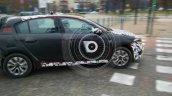 Fiat Tipo hatchback side quarter spotted testing