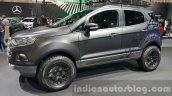 Ford EcoSport custom front three quarters left close at 2015 Thailand Motor Expo