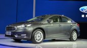 Ford Focus China-spec front three quarters at 2015 Shanghai Auto Show