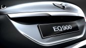 Genesis G90 (Genesis EQ900) rear registration area unveiled