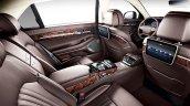 Genesis G90 (Genesis EQ900) rear seat unveiled