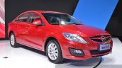Haima M6 front three quarters at the 2015 Shanghai Auto Show