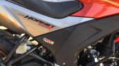 Honda CB Hornet 160R orange with stickering centre panel launched