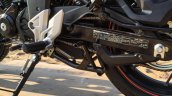 Honda CB Hornet 160R orange with stickering centre stand launched
