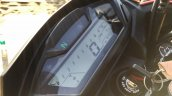 Honda CB Hornet 160R orange with stickering digital instrument console launched