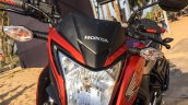 Honda CB Hornet 160R orange with stickering halogen head lamp launched