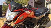 Honda CB Hornet 160R orange with stickering launched
