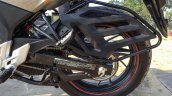 Honda CB Hornet 160R orange with stickering saree guard launched