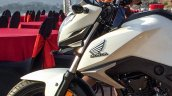 Honda CB Hornet 160R white fuel tank launched