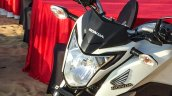 Honda CB Hornet 160R white head lamp launched