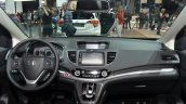 Honda CR-V facelift dash at 2015 Frankfurt Motor Show