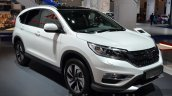 Honda CR-V facelift front three quarters at 2015 Frankfurt Motor Show