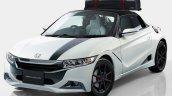 Honda S660 Modulo Concept front quarter for 2016 TAS
