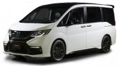 Honda Step WGN Modulo concept front quarter for 2016 TAS